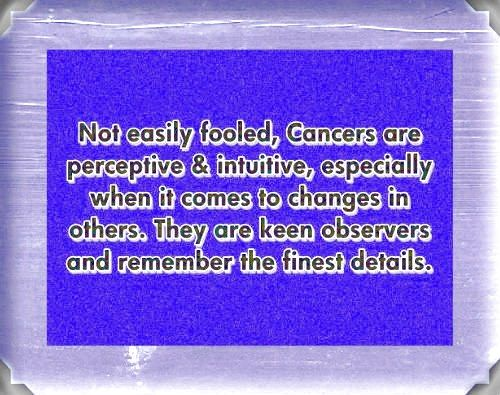 Cancer zodiac, astrology sign, pictures and descriptions. Free Daily Horoscope - http://www.astrology-relationships-compatibility.com/cancer-love-match.html