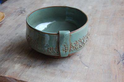 Handbuilt Bowl - Jennifer Burke Pottery