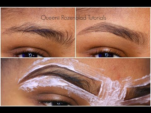 How To Make Perfect Shaped Eyebrows Without Threading! -   Even the most beautiful brows need occasional maintenance, but what do you choose when it comes to a technique —  tweezing? shaving? waxing? Tweezing is a seemingly safe method to groom your brows, and the results last longer than shaving, but it can cause ingrown hairs if the follicle breaks o...