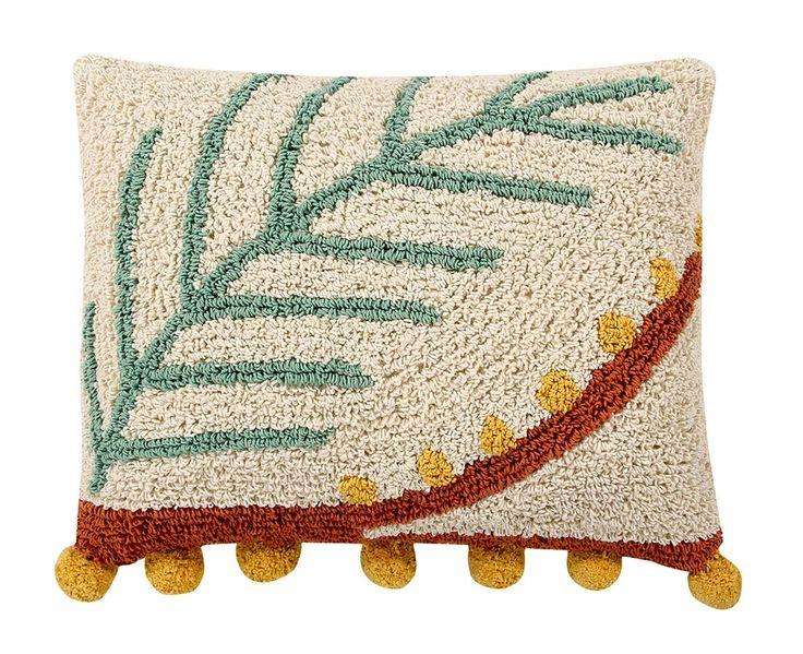 NEW Cushion Palm  #washablecushions #lorenacanals #cushions #accesories #palm