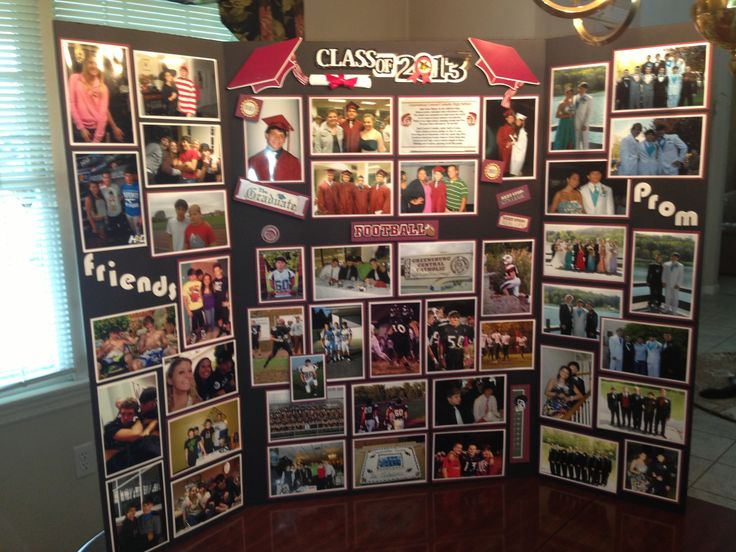 Graduation Photo Board