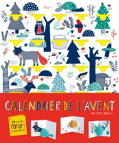 adorable French advent calendar