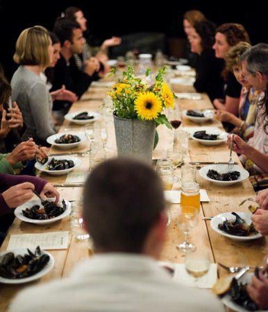 Full Moon Suppers at Salt Water Farm in Lincolnville, Maine