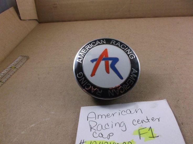 American Racing customs wheel center cap 1242100AR hubcap cover F1 #AmericanRacing