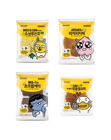 K2POP - KAKAO FRIENDS X SHANY BREAD ( FREE CHARACTER STICKER : RANDOM )