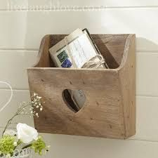 Image result for wooden letter box