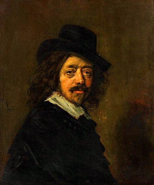 Frans Hals, Self-Portrait, c. 1650s