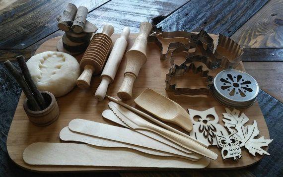 Nature Themed Play Dough Set!