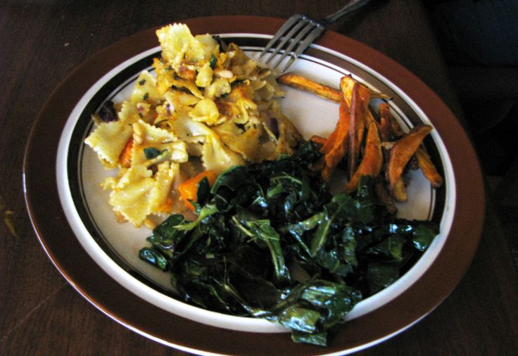 ! Pan-fried Pasta with Butternut Squash, Fried Sage & Pine Nuts ...