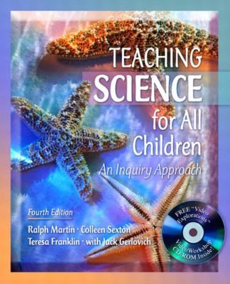 Teaching Science for All Children provides methods for future teachers to foster awareness among their students of the nature of science; to implement skills in the classroom using science inquiry processes; and to develop in their students an understanding of the interactions among science, technology, and society.