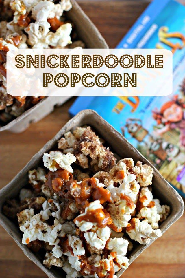 Family Movie Night: The Boxtrolls and Snickerdoodle Popcorn Recipe #BoxtrollsFamilyNite #ad #pmedia