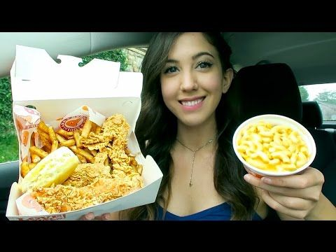 Popeyes Fried Chicken MUKBANG! (Eating Show) - YouTube