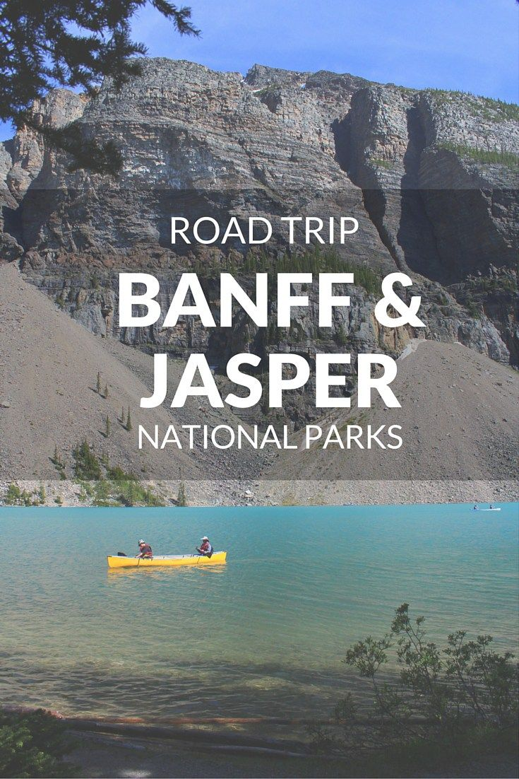 Both located in the Rocky Mountains, Banff and Jasper National Parks have an incomparable scenery and it's one of the world's most beautiful roadways