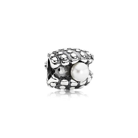 Sparkling pineapple, clear cz - 791293CZ - Charms | PANDORA