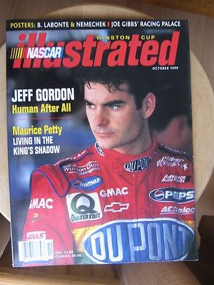 October 1999 NASCAR Illustrated Magazine Jeff Gordon | eBay