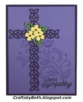 Flourishing Sympathy Card                                                       …