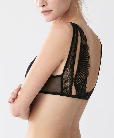 Nouveautés lingerie sensuelle hiver 2016 d'Oysho: nuisettes satin, ensembles de…