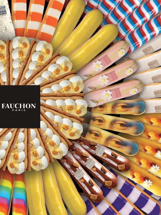 Fauchon is a luxury French patisserie, Which is right in the center of Paris on the Place Madeleine