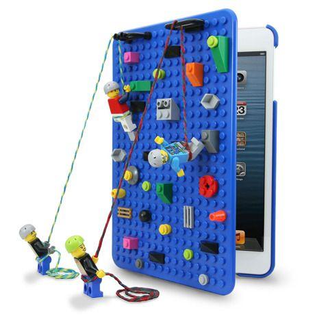 ブルー|想像力を高めるレゴの板デザインのiPad miniケース ( 1st Generation) by SmallWorks