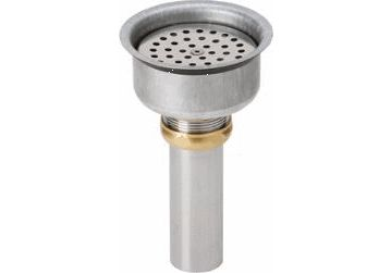 Elkay Perfect Drain Chrome Plated Brass Body, Vandal-resistant Strainer and LKADOS Tailpiece