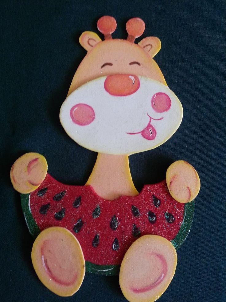 Figuras En Foamy Animales De La Selva Foami Fiesta Baby Bsf 45 00 ...