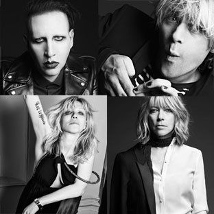 Hedi Slimane Shoots Marilyn Manson and more for Saint Laurent's Pre-Fall 2013 Campaign
