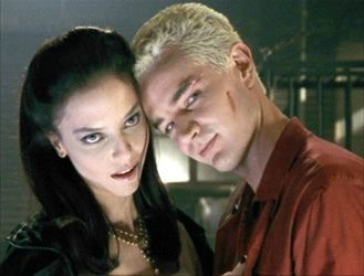 Drusilla and Spike from Buffy The Vampire Slayer
