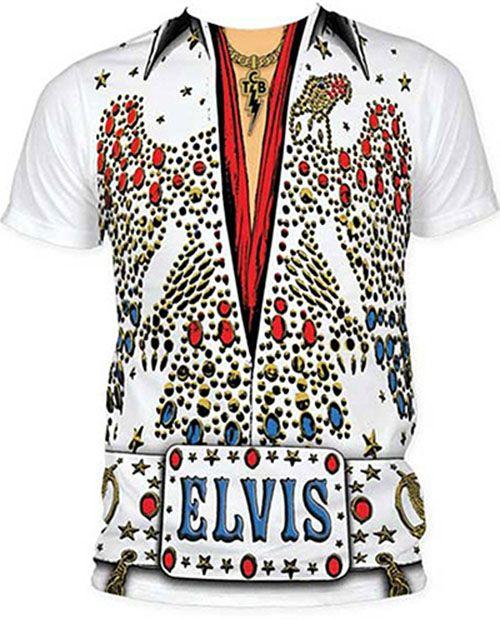 Elvis Presley Tuxedo Costume T-Shirt