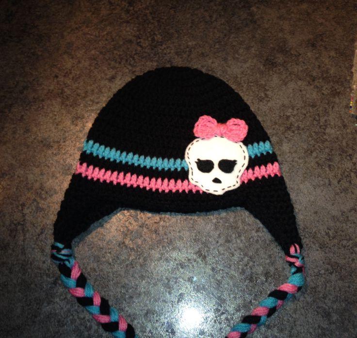 40 mejores imágenes de crochet monster high en Pinterest | Monstruos ...