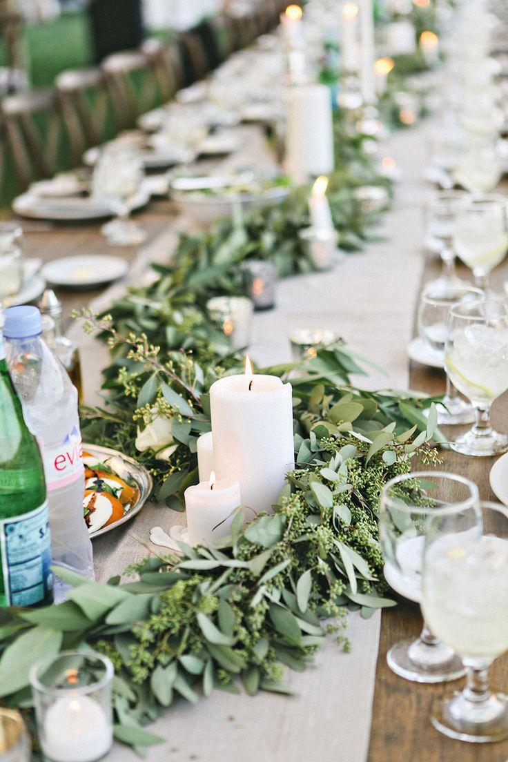 1000 Ideas About Table Garland On Pinterest Kinfolk