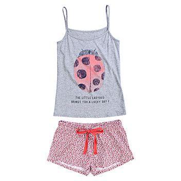 Womensecret. Pijamas Pijama corto de algodn