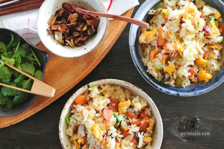 As far as fried rice is concerned, I think we all know it's a taboo to have sticky mushy rice all clumped together. Particularly for me, one who grew up eating mainly Chinese food, I make sur…