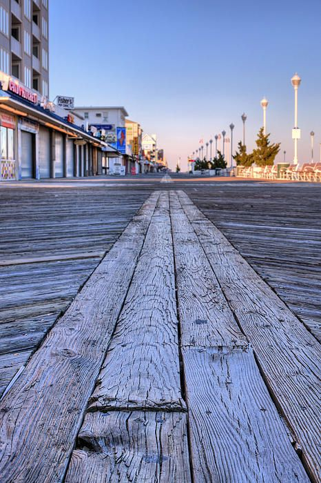 MARYLAND: The Boardwalk in Ocean City, Maryland / photography by JC Findley / Fine Art America