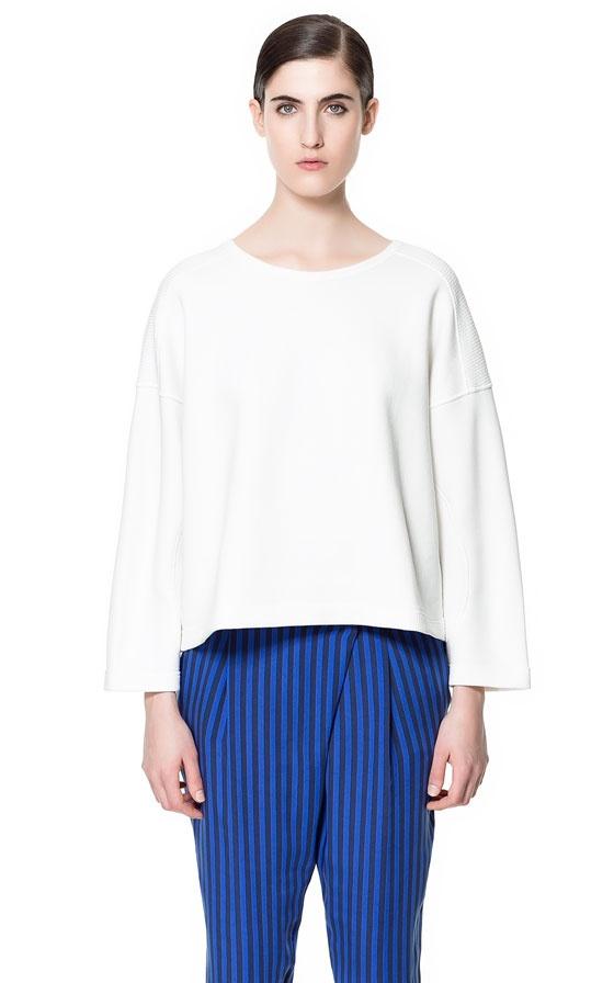 THERMOFIX SWEATSHIRT - Sweatshirts - Woman - ZARA United States