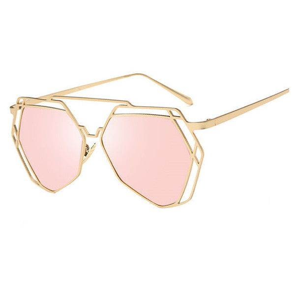 Geometry Cat Eye Steampunk Sunglasses ❤ liked on Polyvore featuring accessories, eyewear, sunglasses, steam punk glasses, cat-eye glasses, steampunk sunglasses, cat eye glasses and cateye sunglasses