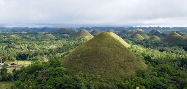 Chocolate hills de l'île de Bohol