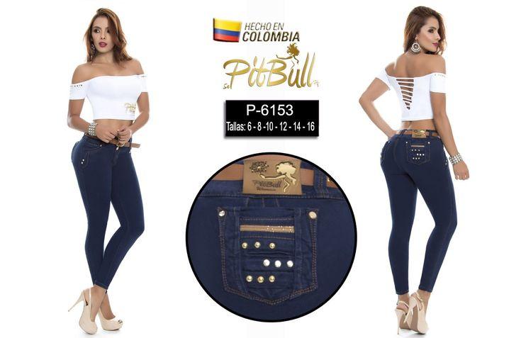 Jeans Pitbull #originales #originaldesing #levantacola #pushup #pantalones #desvanecido #moda #jeans #pantalonajustado #nuevosestilos #fotos #vaqueros #clasico #todoslosdias #azuloscuro #colorclasico