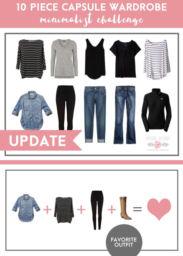 10 Piece Capsule Wardrobe Update - Is this experiment working? Find out what challenges and benefits this mom experienced with a minimalist dressing experiment.
