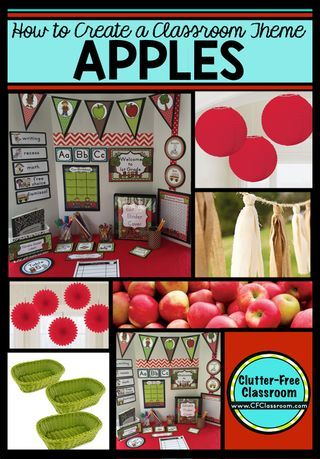 Apple Themed Classroom - Ideas & Printable Classroom Decorations