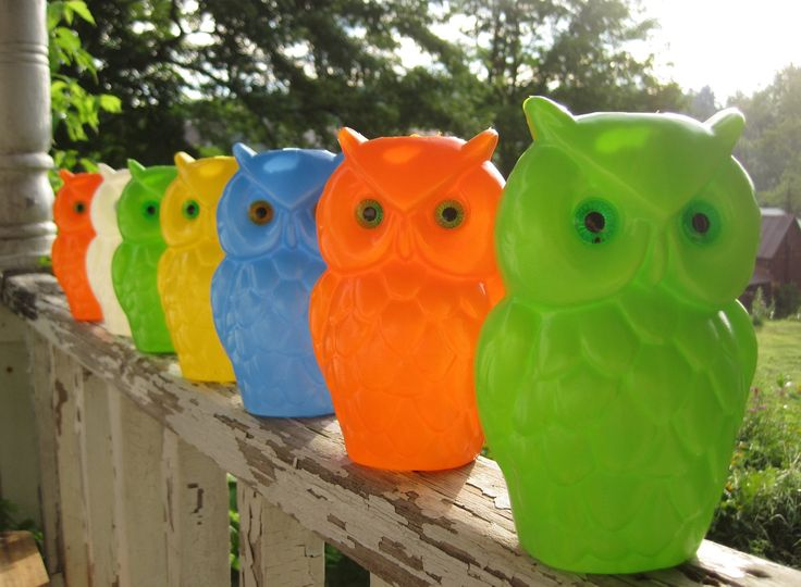 8 best camping party lights images on pinterest vintage caravans 1960s camping reserved vintage 1960s wise old owl colorful hanging party lights in workwithnaturefo
