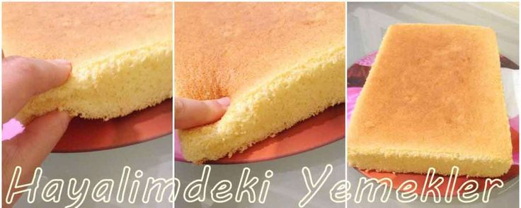 pasta keki nas Yumuşacık  Pasta Keki (Pandispanya )