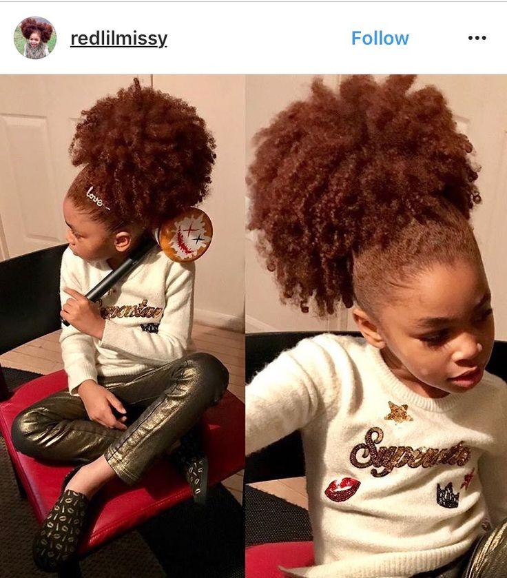 Red Natural Hair Pinterest