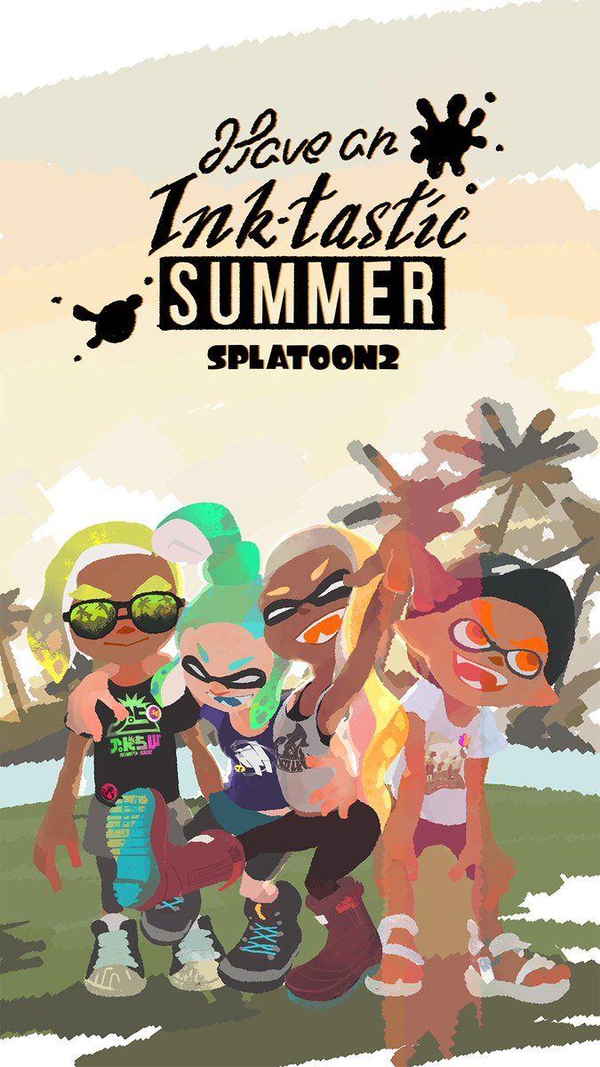 Pin By Kiranabe On Splatoon Splatoon Splatoon Comics Nintendo Splatoon