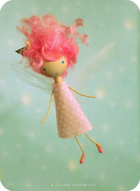 pink fairy girl