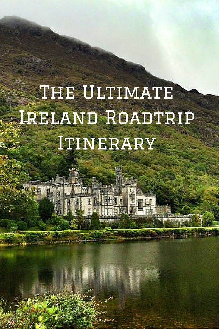 The Ultimate Ireland Roadtrip Itinerary.  Click the pin to read the post from www.flirtingwiththeglobe.com #Ireland