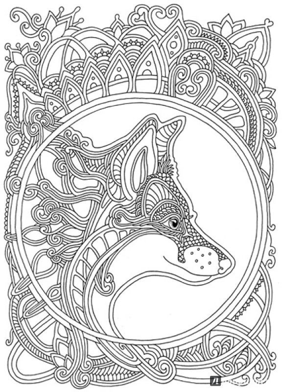 Wind carries flowers coloring book olga goloveshkin for Labyrinth coloring pages