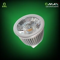 MR16 6w LED spotlight, replacement for 50W halogen lights.