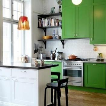 Дизайн интерьера кухни 13 кв.м: фото проектов