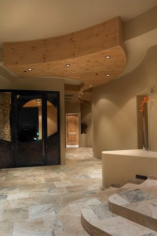 Recessed lighting adds light where you want it without taking away from the ceiling details.
