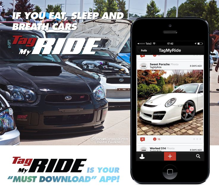 Tag My Ride  - mobile app for all those who eat, sleep and breath cars.  https://itun.es/us/_ZJVN.i